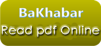 Read BaKhabar pdf (print-version), Online