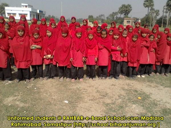 RAHBAR-e-Banaat School and Madrasa, FREE holistic education